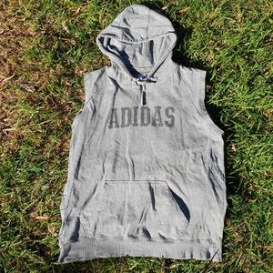 Vintage Adidas sweatshirt hoodie Sz Large